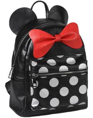 Γυναικείο Σακίδιο Πλάτης Minnie Mouse με Αφτιά και Φιόγκο - Disney