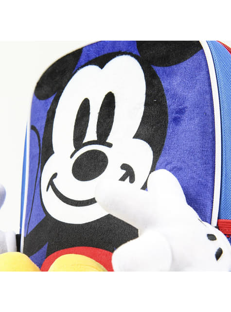 Mickey Mouse backpack with hands and feet for kids - Disney