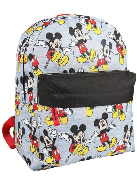 Mochila infantil de Mickey Mouse gris - Disney