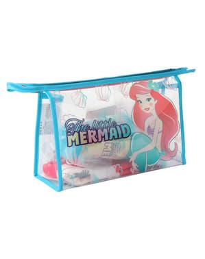 Den lille havfrue toilettaske i blå - Disney