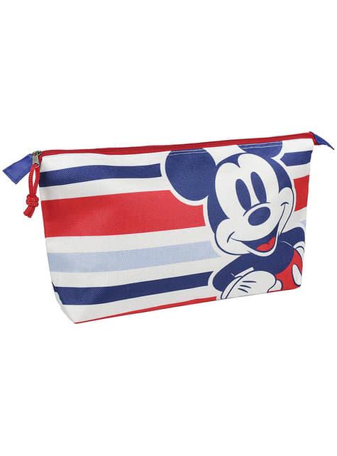 Nécessaire de Mickey Mouse com riscas - Disney