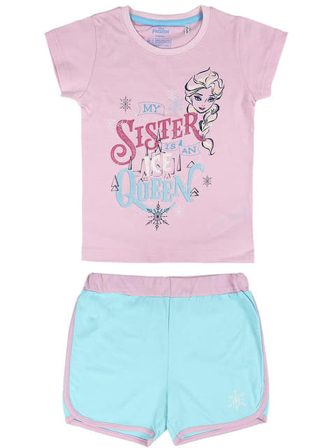 Anna and Elsa pyjamas for girls - Frozen
