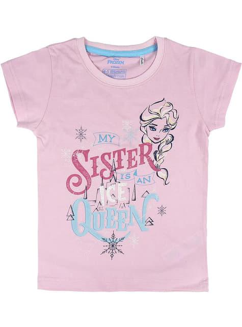 Pijama de Anna e Elsa para menina - Frozen