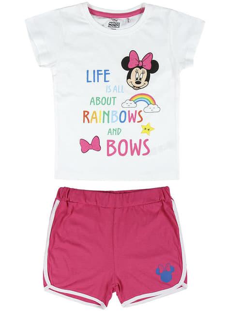 Pijama de Minnie Mouse para menina - Disney
