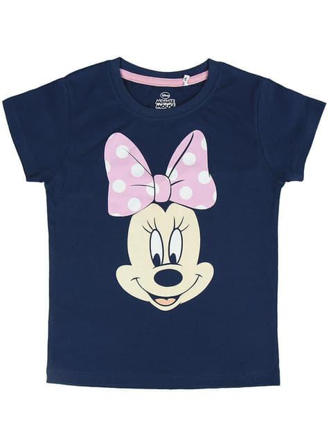 Pijama de Minnie Mouse com pintas para menina - Disney