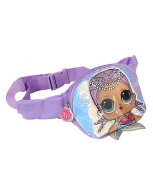 Fioletowa torebka nerka LOL Surprise dla dziewczynek