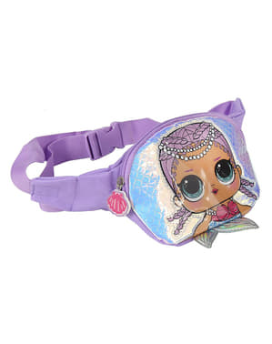 LOL Surprise fanny pack in purple for girls
