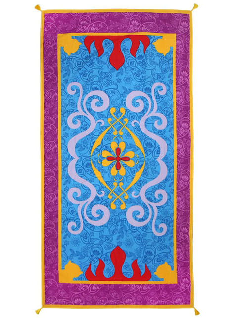 Toalha de almofada mágica do Aladdín - Disney