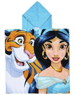 Serviette de plage à capuche Aladdin garçon - Disney
