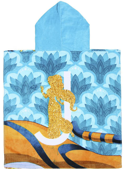 Aladdin handdoek met capuchon voor jongens - Disney