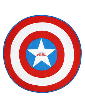 Telo mare Capitan America rotondo per bambino - The Avengers