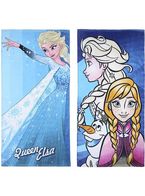2 serviettes La Reine des neiges fille - Disney