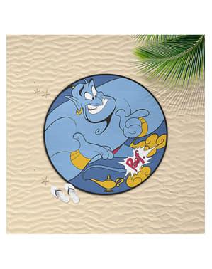 Serviette de plage Génie ronde - Aladdin