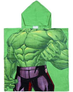 Prosop de baie Hulk cu glugă pentru băiat – The Avengers