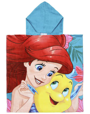 The Little Mermaid towel with hood for girls - Disney