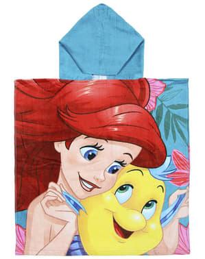 Toalha com capuz de A Pequena Sereia para menina - Disney