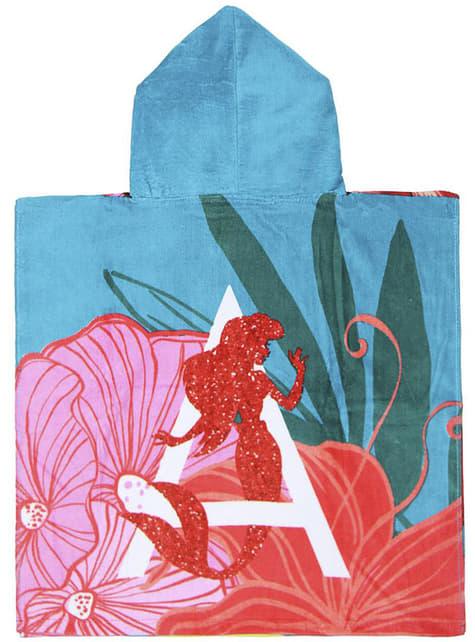 Toalla con capucha de La Sirenita para niña - Disney - barato