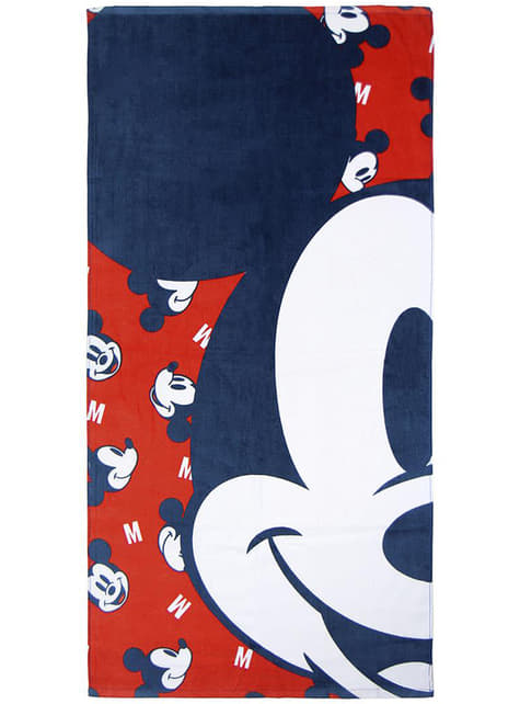 Set de 2 toallas de Mickey Mouse infantil - Disney
