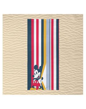 Toalla de Mickey Mouse a rayas para adulto - Disney