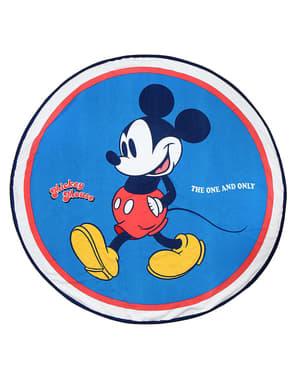 ラウンドミッキーマウスタオル(大人用) - ディズニー