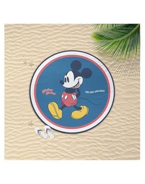Handduk Musse Pigg rund för vuxen - Disney