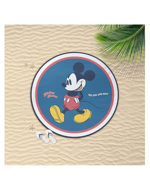 Okrągły ręcznik Myszka Miki dla dorosłych - Disney