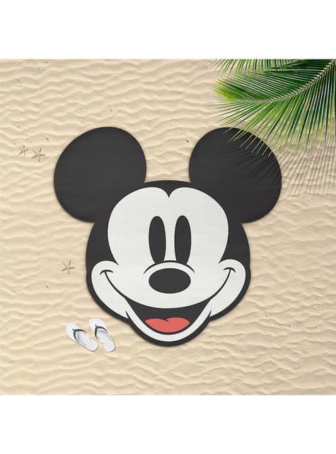 Serviette de plage Mickey Mouse silhouettes pour adulte - Disney