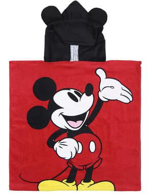 Micky Maus Handtuch mit Kapuze für Jungen - Disney