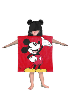 Mickey Mouse towel with hood for boys - Disney
