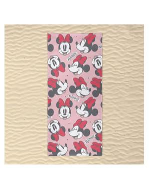 ミニーマウスは女性のためのタオルに直面している - ディズニー