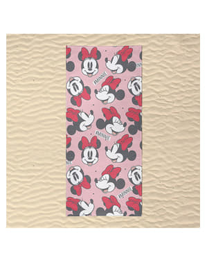 Toalla de Minnie Mouse caras para mujer - Disney