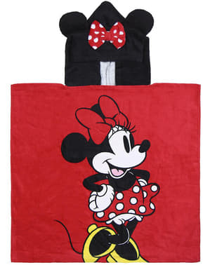 Minnie Mouse towel with hood boys girls - Disney