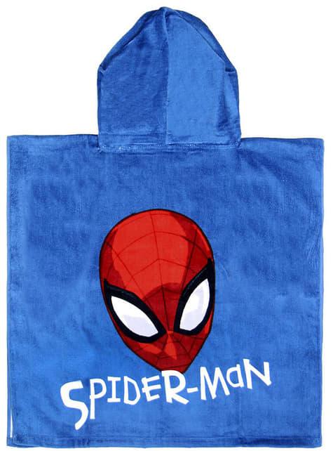 Toalla con capucha de Spiderman para niño - Marvel