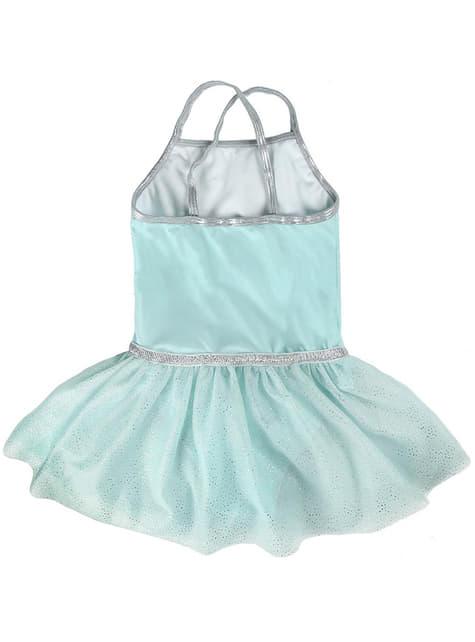 Vestido de Elsa azul para niña - Frozen - original