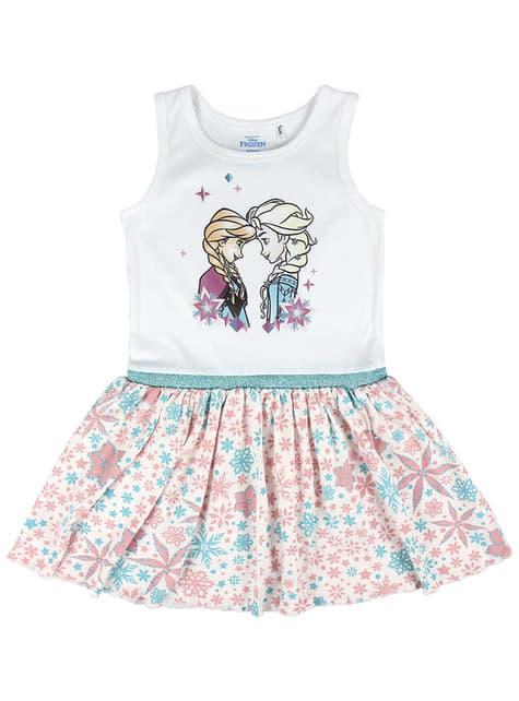Vestido de Anna y Elsa para niña - Frozen