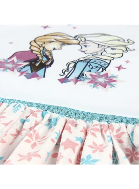 Vestido de Anna e Elsa para menina - Frozen