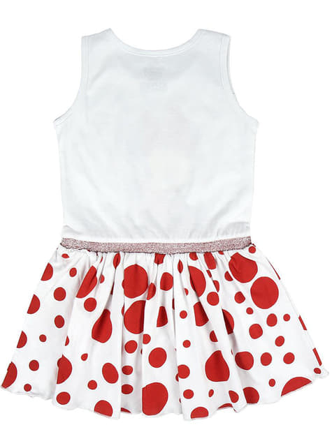 Minnie Mouse dress with polka dots for girls - Disney