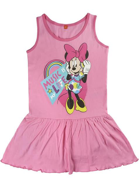 Vestido de Minnie Mouse rosa para niña - Disney