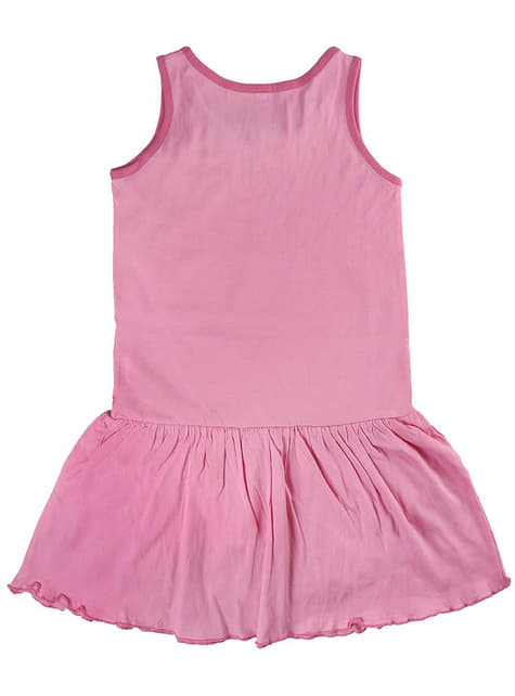 Vestido de Minnie Mouse cor-de-rosa para menina - Disney