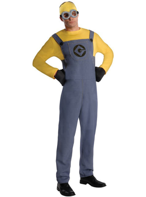 Mens Dave Minion Despicable Me Costume