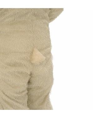 Costume agneau peluche pour fille