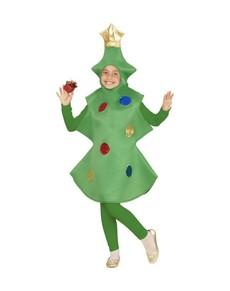 Disfraz de rbol de navidad para ni a funidelia - Disfraz navideno nina ...
