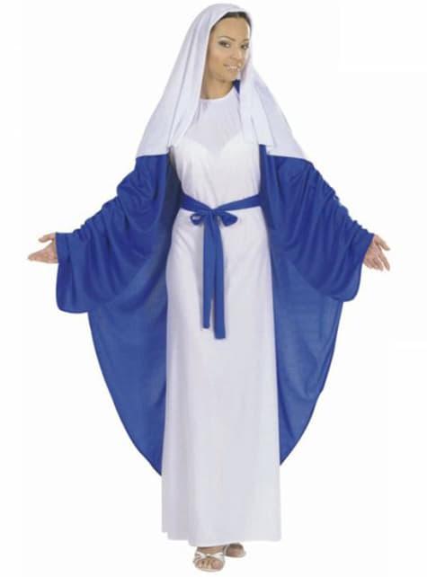イエス衣装のメアリー母