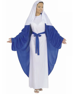 Jungfru Maria Maskeraddräkt för henne