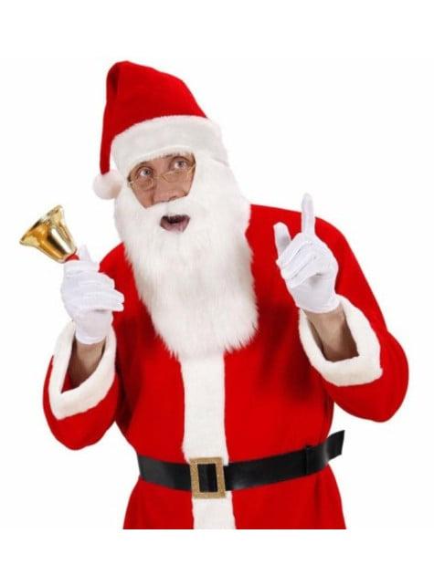 Czapka Święty Mikołaj z brodą