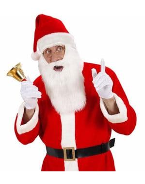Căciulă Moș Crăciun cu barbă