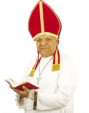 Mijter van Sinterklaas of Bisschop christelijk