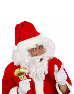 Kit Babbo Natale parrucca con riccioli