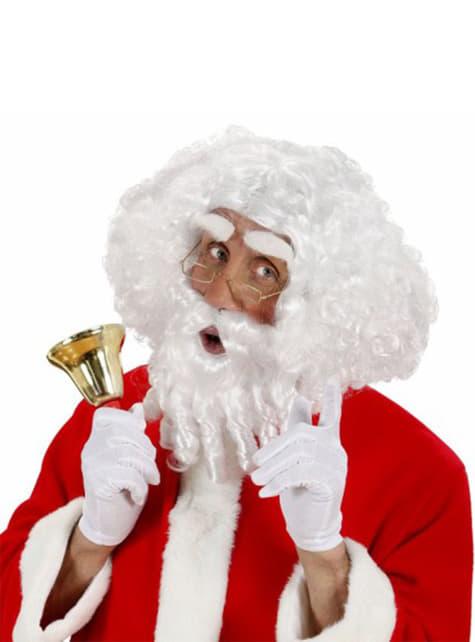 Santa Claus ringlet wig kit