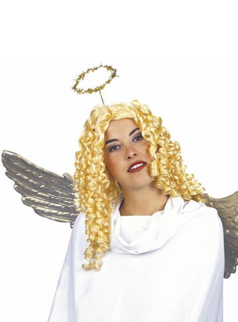 Peluca angelical ricitos de oro